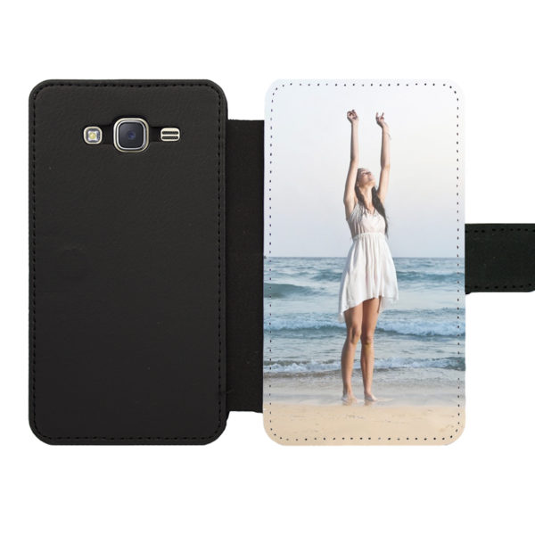 Samsung Galaxy J5 (2015) Wallet case (front printed)