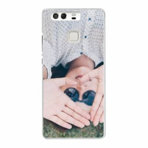 Huawei P9 Hard case (back printed, transparent)