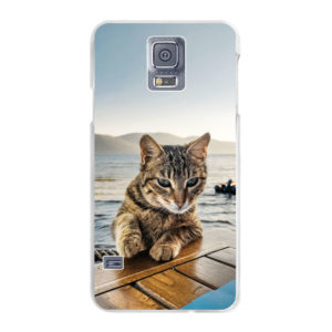 Samsung Galaxy S5/S5 Neo Hard case (back printed, transparent)