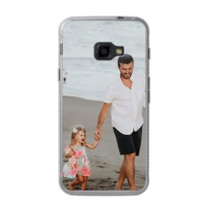 Samsung Galaxy Xcover 4 Soft case (back printed, transparent)