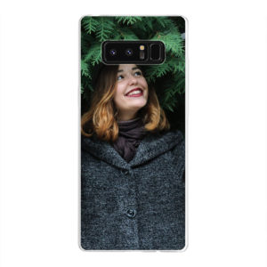 Samsung Galaxy Note 8 Soft case (back printed, transparent)