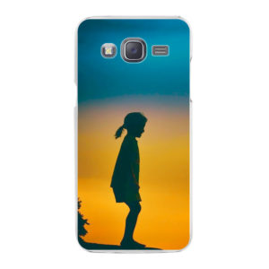 Samsung Galaxy J5 (2015) Hard case (back printed, transparent)