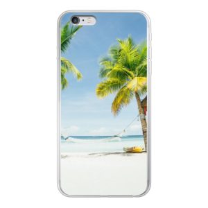 Apple iPhone 6/6s Plus Soft case (back printed, transparent)