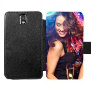 Samsung Galaxy Note 3 Wallet case (front printed)