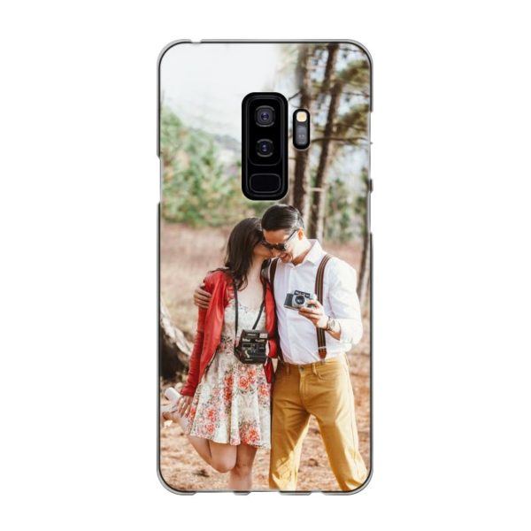 Samsung Galaxy S9 Plus Soft case (back printed, transparent)