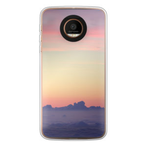 Motorola Moto Z Force Soft case (back printed, transparent)