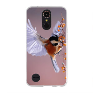 LG K10 (2017) Soft case (back printed, transparent)