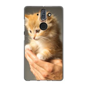 Nokia 8 Sirocco Soft case (back printed, transparent)