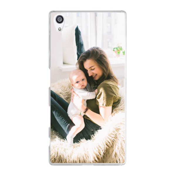Sony Xperia Z5 Hard case (back printed, transparent)