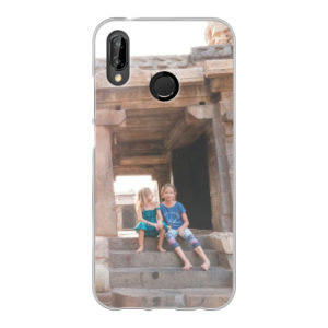 Huawei P20 Lite Soft case (back printed, transparent)