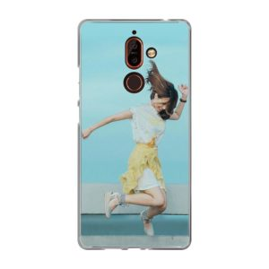 Nokia 7 Plus Soft case (back printed, transparent)