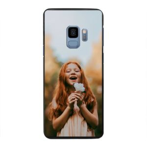 Samsung Galaxy S9 Hard case (back printed, black)