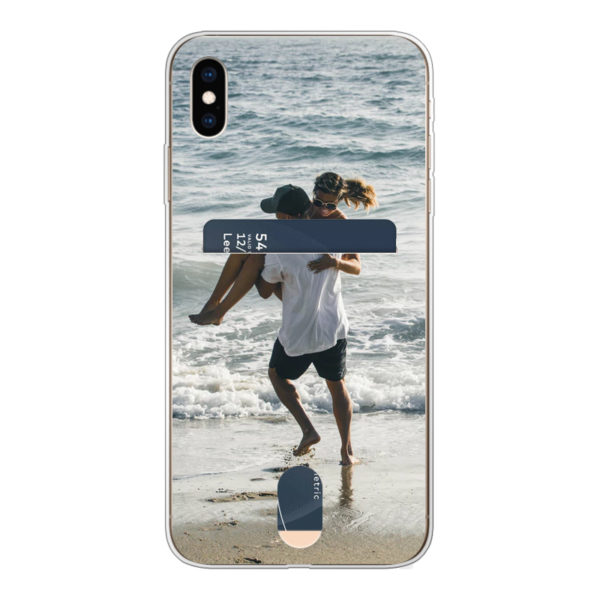 Apple iPhone X/Xs Credit card Soft case (back printed, transparent)
