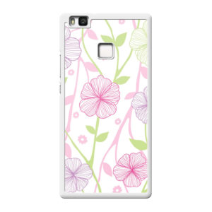 Huawei P9 Lite Hard case (back printed, white)