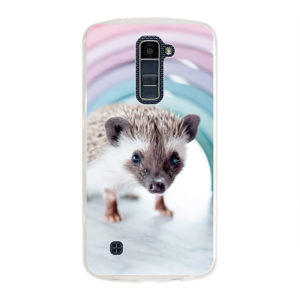 LG K10 (2016) Soft case (back printed, transparent)