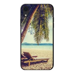 Apple iPhone Xr Soft case (back printed, black)