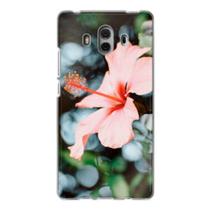 Huawei Mate 10 Soft case (back printed, transparent)