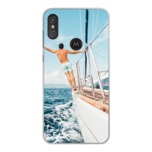 Motorola One (P30 Play) Soft case (back printed, transparent)