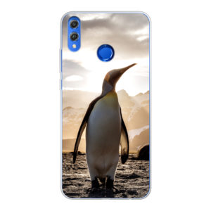 Honor 8X Soft case (back printed, transparent)