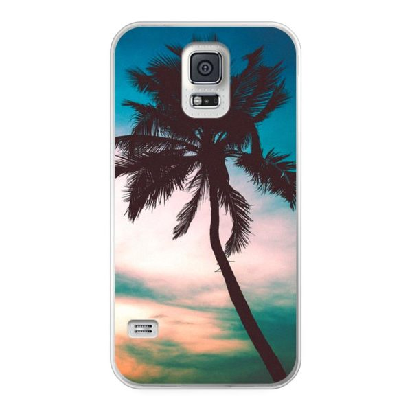 Samsung Galaxy S5 Soft case (back printed, transparent)