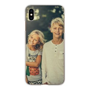 Apple iPhone Xs Max Hard case (back printed, transparent)