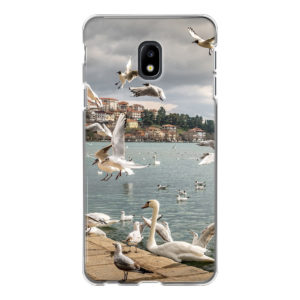 Samsung Galaxy J3 (2017) Soft case (back printed, transparent)