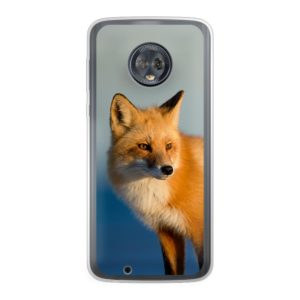 Motorola Moto G6 Soft case (back printed, transparent)