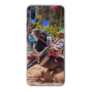 Huawei Nova 3 Soft case (back printed, transparent)