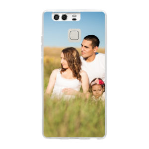 Huawei P9 Soft case (back printed, transparent)
