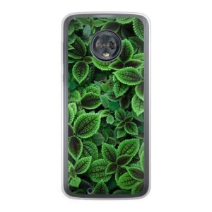 Motorola Moto G6 Plus Soft case (back printed, transparent)