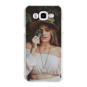 Samsung Galaxy J5 (2016) Hard case (back printed, transparent)