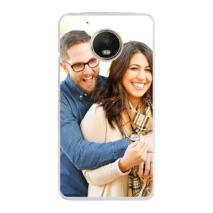 Motorola Moto G5 Hard case (back printed, transparent)