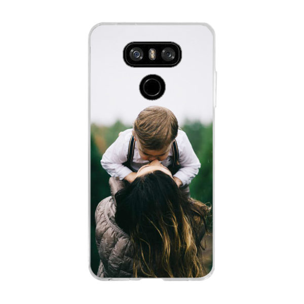 LG G6 Soft case (back printed, transparent)