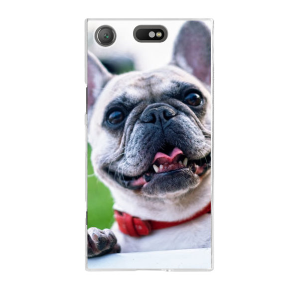 Sony Xperia XZ1 Compact Hard case (back printed, transparent)