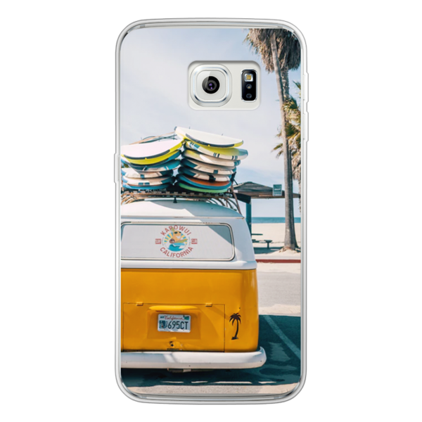 Samsung Galaxy S6 Edge Soft case (back printed, transparent)
