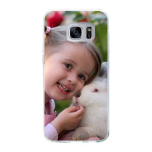 Samsung Galaxy S7 Soft case (back printed, transparent)
