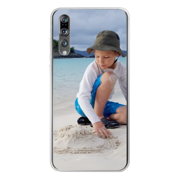 Huawei P20 Pro Soft case (back printed, transparent)