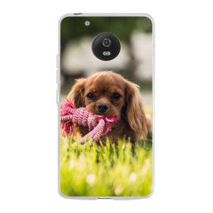 Motorola Moto G5 Soft case (back printed, transparent)