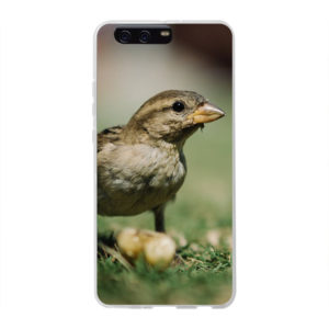 Huawei P10 Plus Soft case (back printed, transparent)