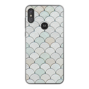 Motorola One Power (P30 Note) Soft case (back printed, transparent)