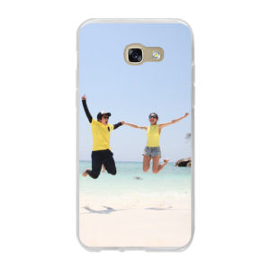 Samsung Galaxy A5 (2017) Soft case (back printed, transparent)