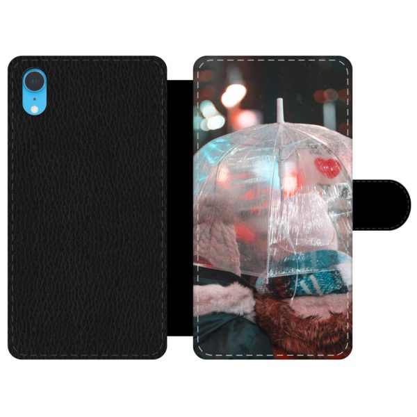 Apple iPhone Xr Wallet case (front printed)
