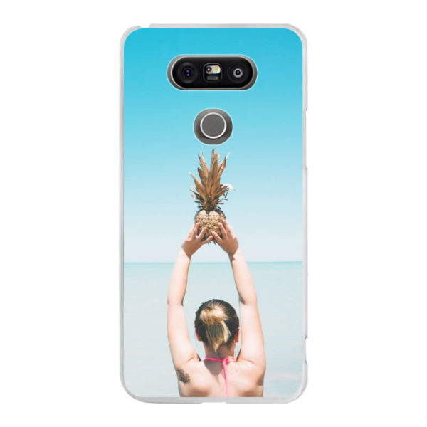 LG G5 Hard case (back printed, transparent)