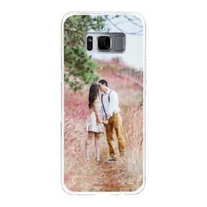 Samsung Galaxy S8 Soft case (back printed, white)