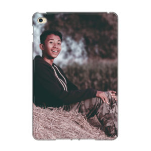 Apple iPad mini 4 Soft case (back printed, transparent)