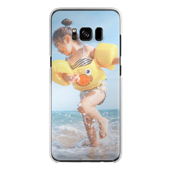 Samsung Galaxy S8 Plus Hard case (back printed, transparent)