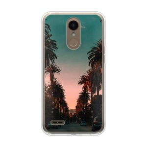 LG K10 (2018) Soft case (back printed, transparent)