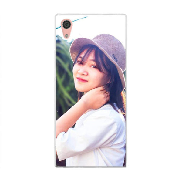 Sony Xperia XA1 Soft case (back printed, transparent)
