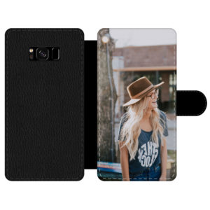 Samsung Galaxy S8 Wallet case (front printed)