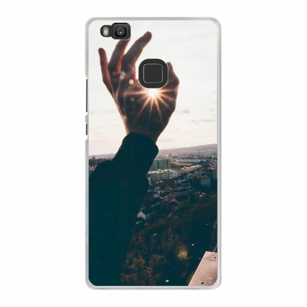 Huawei P9 Lite Hard case (back printed, transparent)